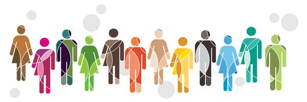 Human diversity concept